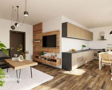 REZERVOVANÝ /NA PREDAJ | 3 izbový byt 71m2 + veľká terasa - Rezidencia Kožušnícka dom B