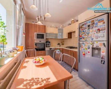 REZERVOVANÉ - 4 izbový byt s loggiou   Prešov - Ďumbierska ulica