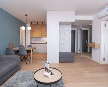 **JEDINEČNÁ PONUKA ** Na prenájom doposiaľ neobývaný 2 izbový byt s panoramatickým výhľadom na mesto