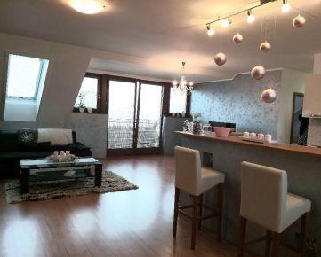 NA PRENÁJOM: Veľký, klimatizovaný 2izbový  byt s balkónom a parkovacím miestom v centre mesta!