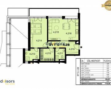 POSLEDNÝ 2-izbový byt v novostavbe Borovicový Háj