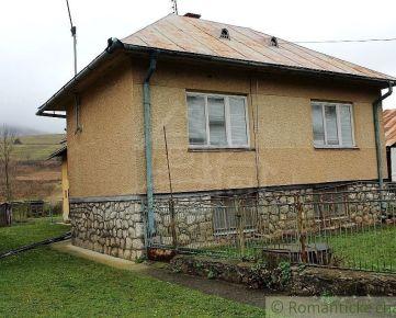 Dom pri potoku- Nižná Jablonka