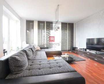 HERRYS - Na prenájom výnimočný 3 izbový byt s krbom a terasou v tichej lokalite na Kramároch