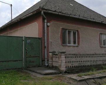 Ponúkame vám domček neďaleko od mesta Šahy v Preseľany nad Ipľom
