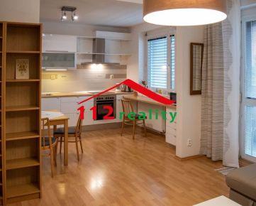 Na prenájom  zariadený 2 izbový byt s loggiou s parkingom,  Ružinov, novostavba Tomášikova