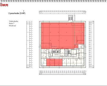 ID: 2169 Prenájom  Kancelárie: od 25 m2 do 955, 957, 1327 m2, širšie centrum