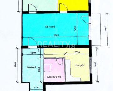 PREDAJ 3 izbového bytu vo vyhľadávanej lokalite centra mesta NR.