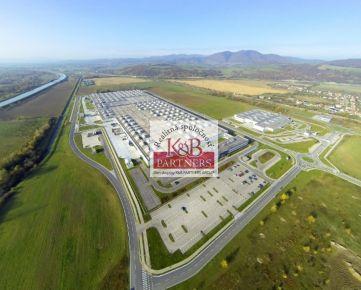 Ponúkame Vám napredaj pozemok o výmere 4140 m2 v priemyselnom parku v Trenčíne.