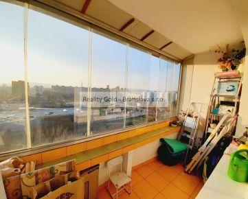3 izbový ROVNIANKOVA Petržalka - 88 m2 - 2 x LOGGIA !!