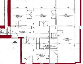 4-izb. byt 113m2, čiastočná rekonštrukcia