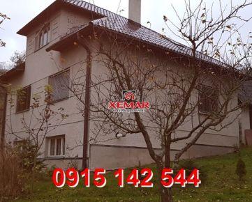 Na predaj rodinný dom v Hriňovej