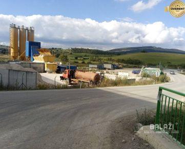 Žilina - Bánová, pozemok 6000m2  v priemyselnej zóne
