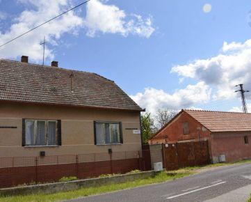Na predaj rodinný dom v obci Brodské
