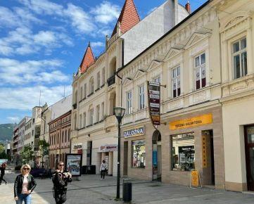PROTIINFLAČNÁ PRÍLEŽITOSŤ budova priamo v strede pešej zóny, Nitra