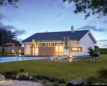 4-izbový bungalov, novostavba, Hrubá Borša pri Senci