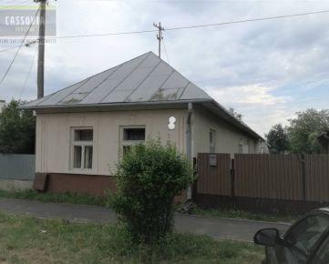 Rodinný dom + stavebný pozemok, Sečovce