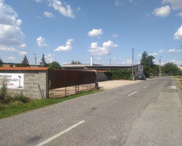 Investičná príležitosť, na predaj byt a obchodné priestory 235 m2, pozemok 1294 m2, v obci Čaka okres Levice