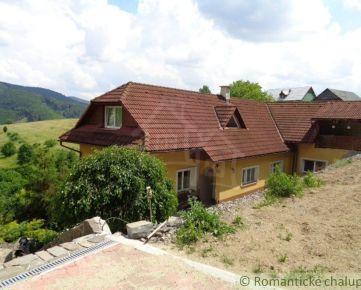 Dom po rekonštrukcii na polosamote v Podkriváni