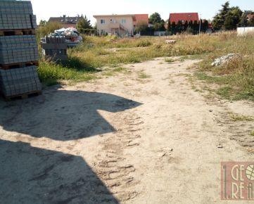 Na predaj stavebný pozemok v Bernolákove - Rezervované