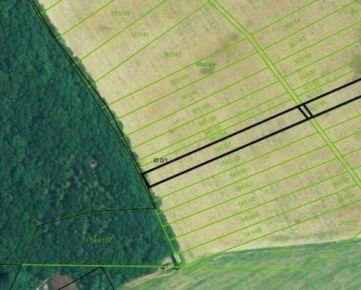 Na predaj orná pôda, 2692 m2, Župčany
