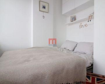 Na prenájom výborne dispozične riešený 1 izbový byt s balkónom v Podunajských Biskupiciach