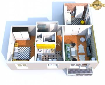 Predaj, trojizbový byt, Hlohovec, exkluzívne Reality IQ - rezervované