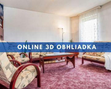 REZERVOVANÉ - INTERAKTÍVNA 3D OBHLIADKA | 7 izbový mezonetový byt v Pezinku