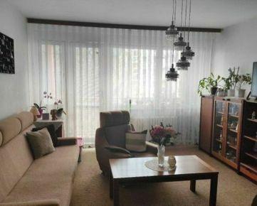 3.izbový byt s loggiou - ulica Justičná