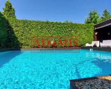 ADOMIS - rodinný dom 3-podlažný, 447m2, bazén, 2xkúpelňa, garáž, altánok, Vyšné Opátske,2min do centra mesta Košice