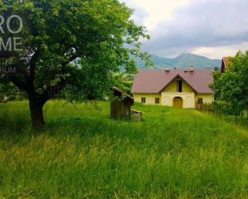 Dom na bývanie, rekreáciu, na predaj
