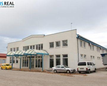 NA PRENÁJOM: Veľká, reprezentatívna samostatná výrobná hala o výmere 3000 m²  v Trnave!
