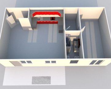 Nový 2i-byt v novostavbe s parkovaním a terasou – Centrum