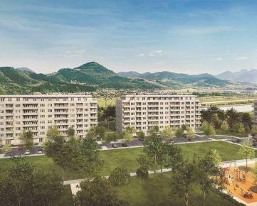 4i byt so štedrou výmerou Zelené Vlčince D.201