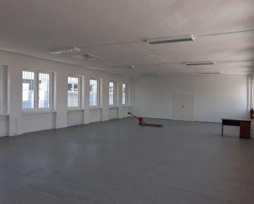 Prenájom sklad. priestorov 200 m2 v širšom centre