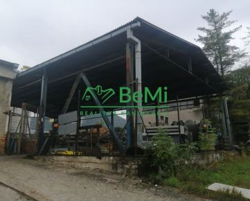 Na prenájom prístrešok 330 a 320 m2 v priemyselnom areáli Banská Bystrica (ID-430-210-ZUS)