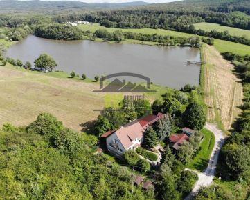 Jediný RD-CHATA   priamo pri jazere v Jelenci NOVÁ CENA 140tis. (12min. od Nitry)