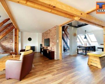 Na prenájom luxusný mezonetový byt, Nitra, Cintorinská ul.120 m2. CENA: 900,00 Eur/mesiac