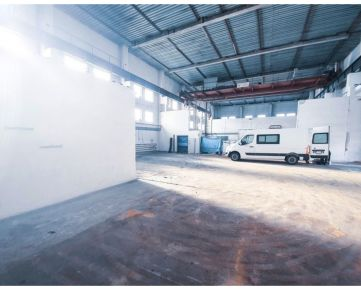 Výrobná hala, prenájom, Banská Bystrica, VLKANOVÁ, 800 m2