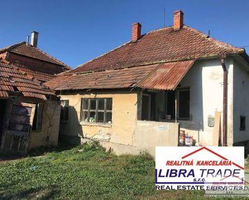 PREDAJ - 2,5 izbový rodinný dom v pôvodnom stave v Iži DOHODA MOŽNÁ!