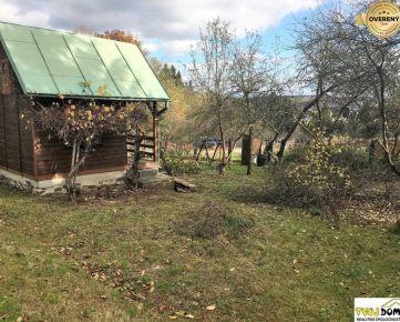 Záhradná chatka na vysporiadanom pozemku, Zvolen - Môťová
