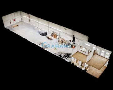 3D prehliadka, prenájom, areál, sklad Strojnícka ulica pri obchvate D1