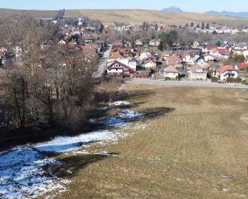 3D: STAVEBNÝ POZEMOK DEMÄNOVÁ 7134 m2, výhľad na Vysoké aj Nízke Tatry, VIDEO