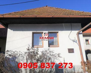 Na predaj rodinný dom v obci  Sebedín