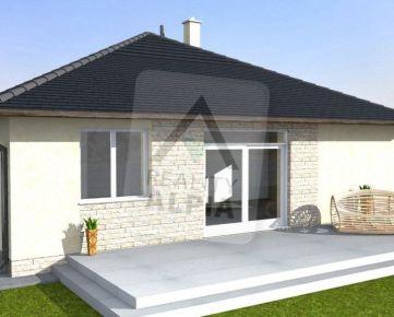 NA PREDAJ novostavba 4-izbový rodinný dom, Andovce
