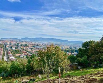 Pozemok na záhradku, Prešov,  581 m2 s očarujúcim výhľadom