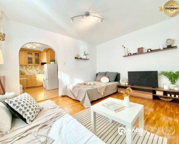 IBA U NÁS! 1-izbový byt v obľúbenej lokalite SIHOŤ I, ul. Hurbanova
