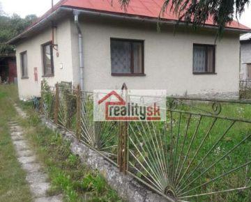 Dom alebo chalupa na predaj v obci Osadné