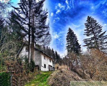 Chata v peknom prostredí blízko priehrady