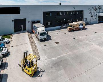 Prenájom skladu so službami - uskladnenie paliet- Bratislava / Warehouse with services for lease