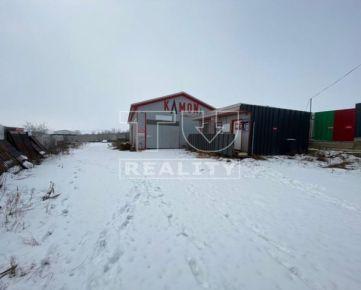 Na predaj skladová hala s kancelárskym priestorom, 1200 m2. CENA: 175 000,00 EUR